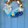 Beachy Seashell Wreath