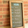 Chalkboard Menu {Guest Post}