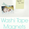 Washi Tape Magnets {Guest Post}