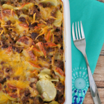 Cheesy Beef and Potato Casserole and Bonus Box Tops