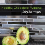 Healthy Chocolate Pudding {Guest Post}