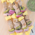 Garlic and Herb Pork Kabobs