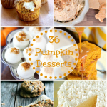 36 Pumpkin Dessert Recipes