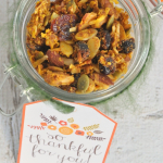 Homemade Gifts: Paleo Pumpkin Granola