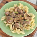 Mushroom and Red Wine Beef