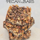 Chocolate Maple Pecan Bars