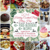 40+ Holiday Cocktail Party Recipes