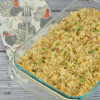 Thanksgiving Quinoa Stuffing with Pancetta