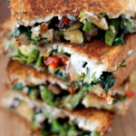 Roasted Vegetable Grilled Cheese