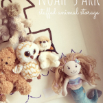 Noah's Ark Stuffed Animal Storage