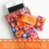 DIY Quilted iPhone Case
