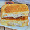 Fiery Turkey Bacon Grilled Cheese