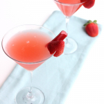 Strawberry Rhubarb Cosmopolitan