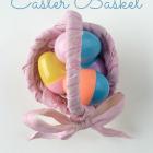 Scrap Fabric Easter Basket