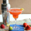 Strawberry Key Lime Margarita