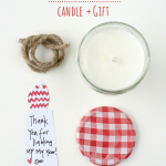 Teacher Gift: DIY Soy Candle