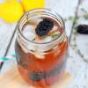 Blackberry Thyme Tea Lemonade