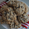 Chocolate Chip Oatmeal Scotchies #holidaytreats