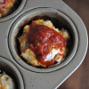 Mini Chicken Parmesan Meatloaf