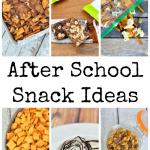 Six After School Snack Ideas