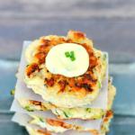 Paleo Chicken Zucchini Fritters