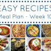 Easy Recipes Meal Plan - Week 10