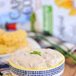 Roasted Onion Sriracha Dip