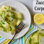 The Perfect Summer Side Dish: Zucchini Carpaccio