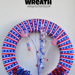 July 4th Ribbon Wreath