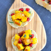 Pomegranate Pumpkin Crostini