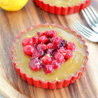 Cranberry Lemon Tarts