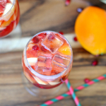 Orange Pomegranate Sparkling Punch
