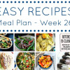 Weekly Meal Plan - Healthy Edition