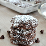 Cookie Day: Chocolate Snowflake Cookies