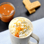 Hot Chocolate and Salted Caramel Sauce