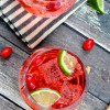 Cranberry Lime Vodka Tonic