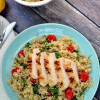 Citrus Chicken with Quinoa Salad