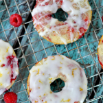 Lemon Raspberry Donuts