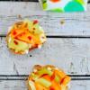 Melon Prosciutto Crostini