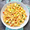 Summer Squash Pasta Salad with Prosciutto