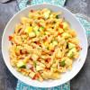 Summer Squash Pasta Salad with Prosciutto