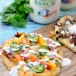 Fajita Ranch Pizza