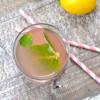 Raspberry Mint Lemonade for a Girl Scout Party