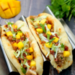 Chicken Bacon Mango Tacos