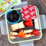 Peanut Butter and Fruit Kabobs