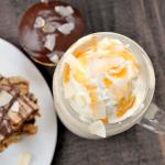 Caramel Coconut Milkshake