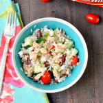 Easy Greek Rice Salad