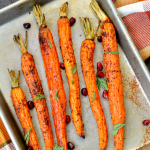 Sumac Roasted Carrots with Walnuts