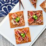 Wasabi Ginger Soy Tuna Crisps