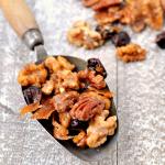 Ten Minute Easy Glazed Nut Mix
